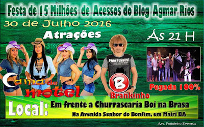 Festa do Blog Agmar Rios