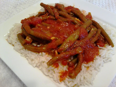 Fasoulia (Middle eastern string beans)