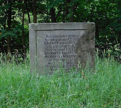 Obelisk poświęcony poległym podczas I wojny światowej.