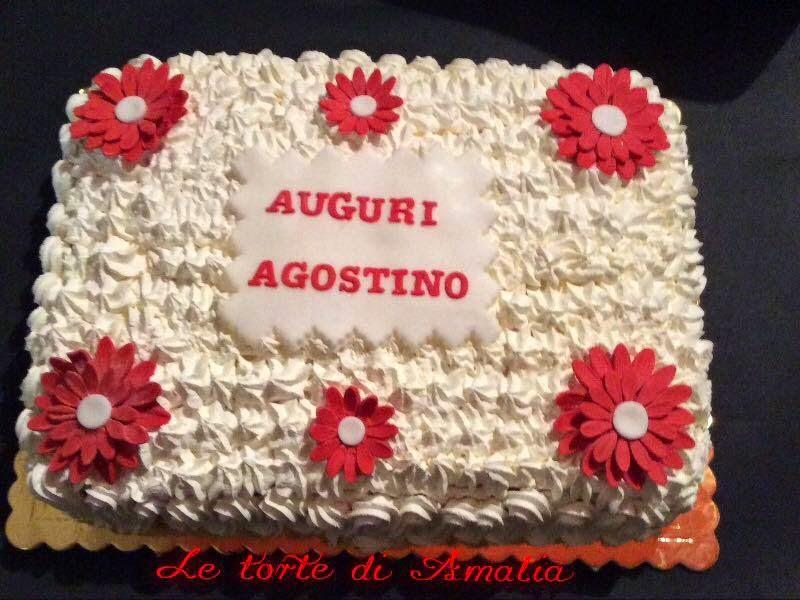 Ben noto Le torte di Amalia: Auguri Agostino FL09