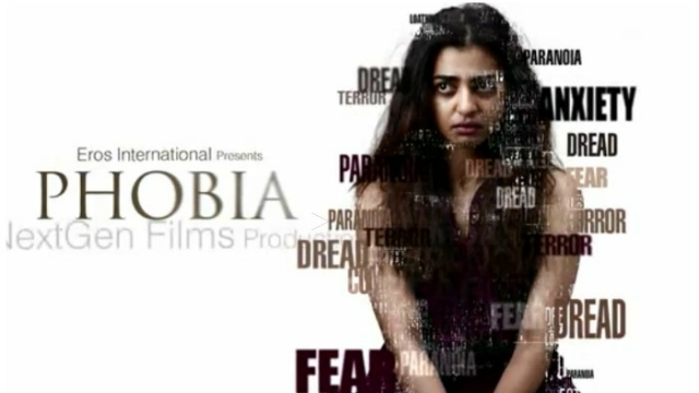 Radhika Apte, fear has a new way