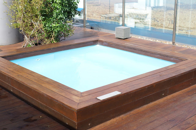 Hello Freckles Barcelona Hotel Travel Ayre Hotel Rosellon Sagrada Familia Roof Terrace Plunge Pool