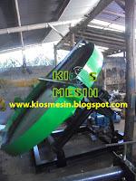 mesin granul kompos, mesin pembuat granul kompos, mesin pan granulator kompos