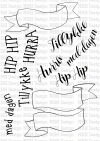 NHH Design BANNERE clear stamps