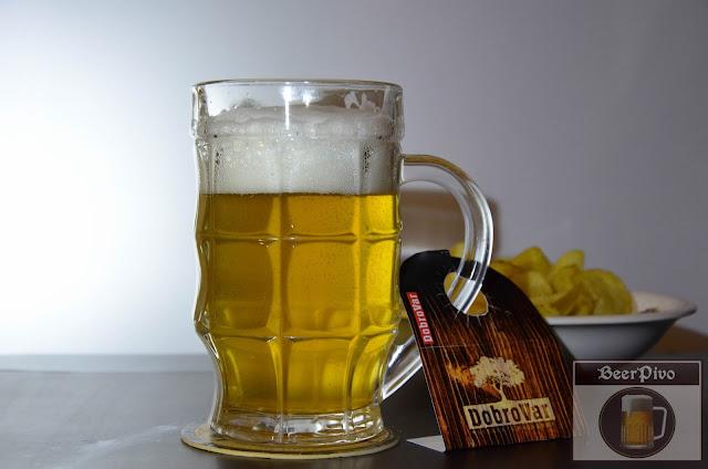 Dobrovar Добровар светлое пиво Живое