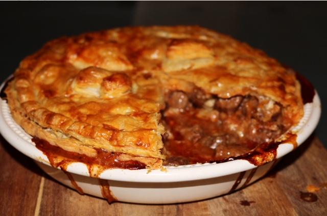Steak, Ale & Stilton Pie