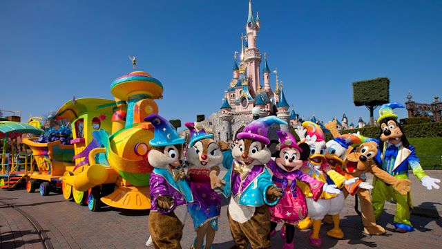 Travel to Disneyland Paris