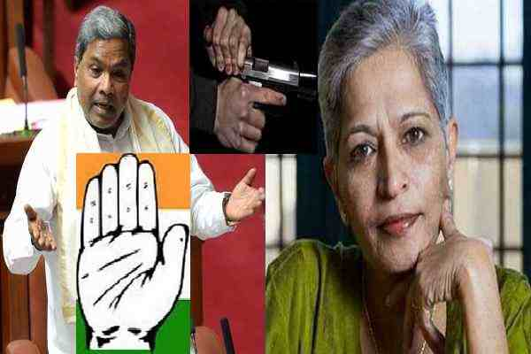 gauri-lankesh-was-working-congress-government-corruption-story