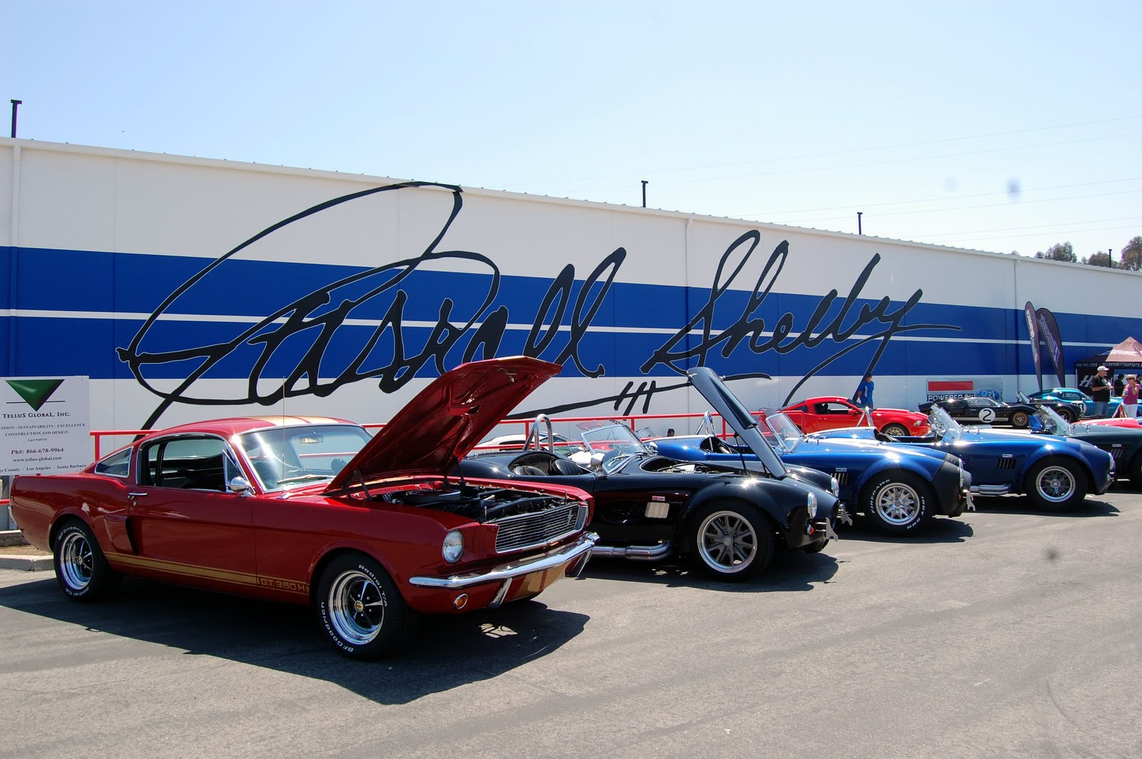 Car Show Report: 2013 First Annual Carroll Shelby Tribute and Car Show Gardena, CA