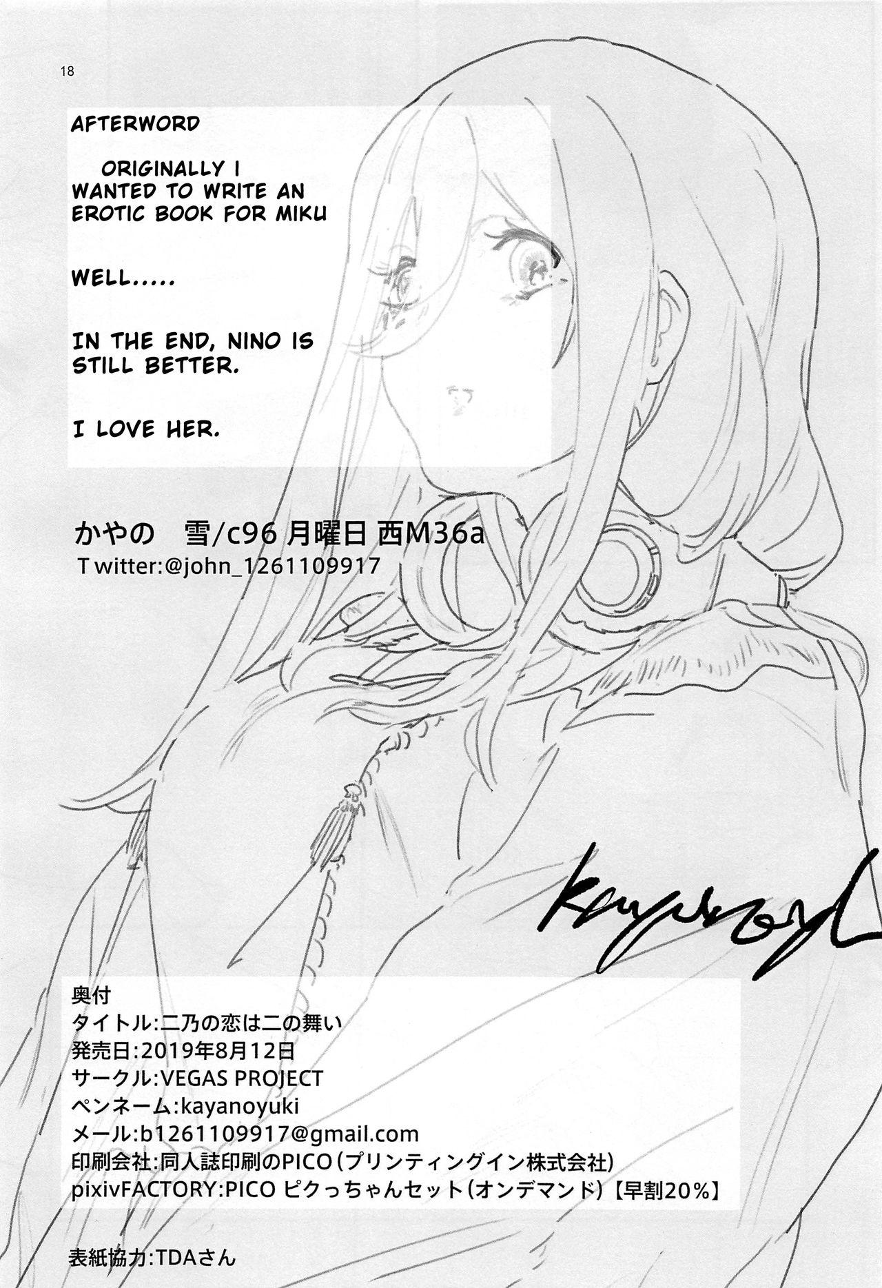 Nino no Koi wa Ni no Mai Chương 1 - doctruyenhentai.net