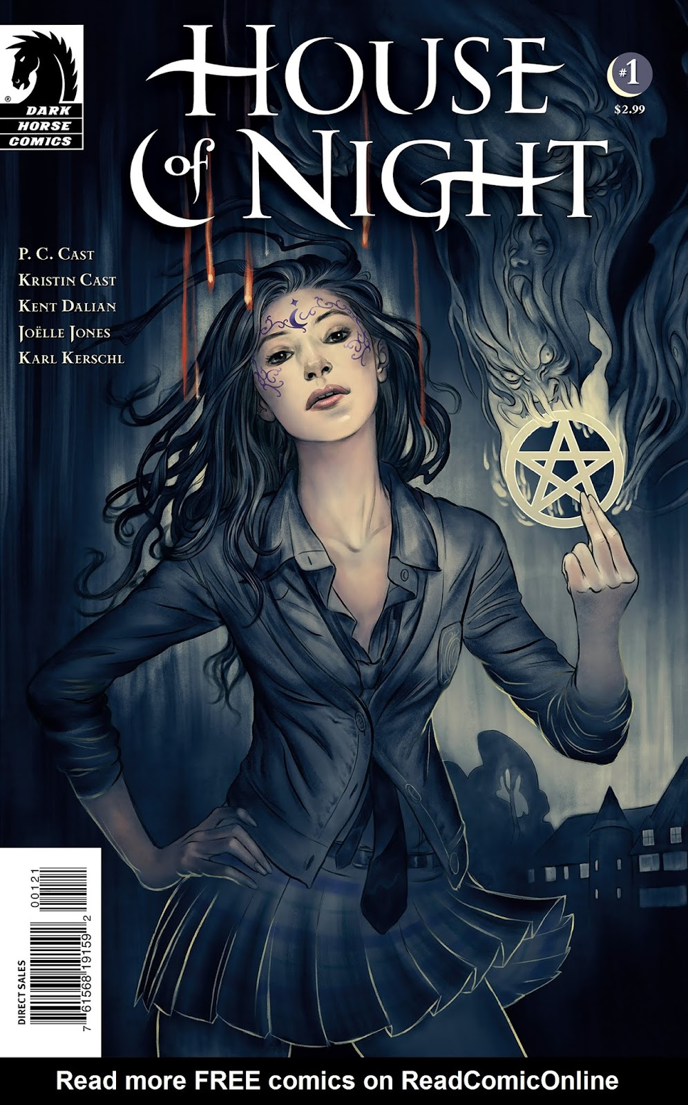 House of Night Issue #1 #1 - English 2