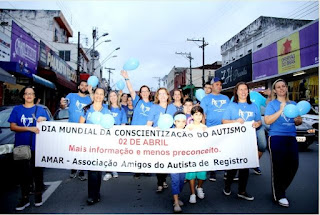 3ª Caminhada pelo Autismo encerra as atividades de conscientização em Registro-SP