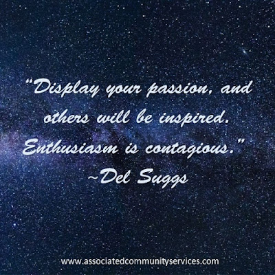 Image: Display your passion, and others will be inspired. Enthusiasm is contagious.