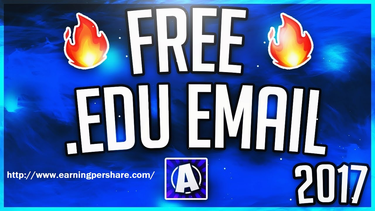 Get a free EDU email account step by step ~ Earnings Per Share