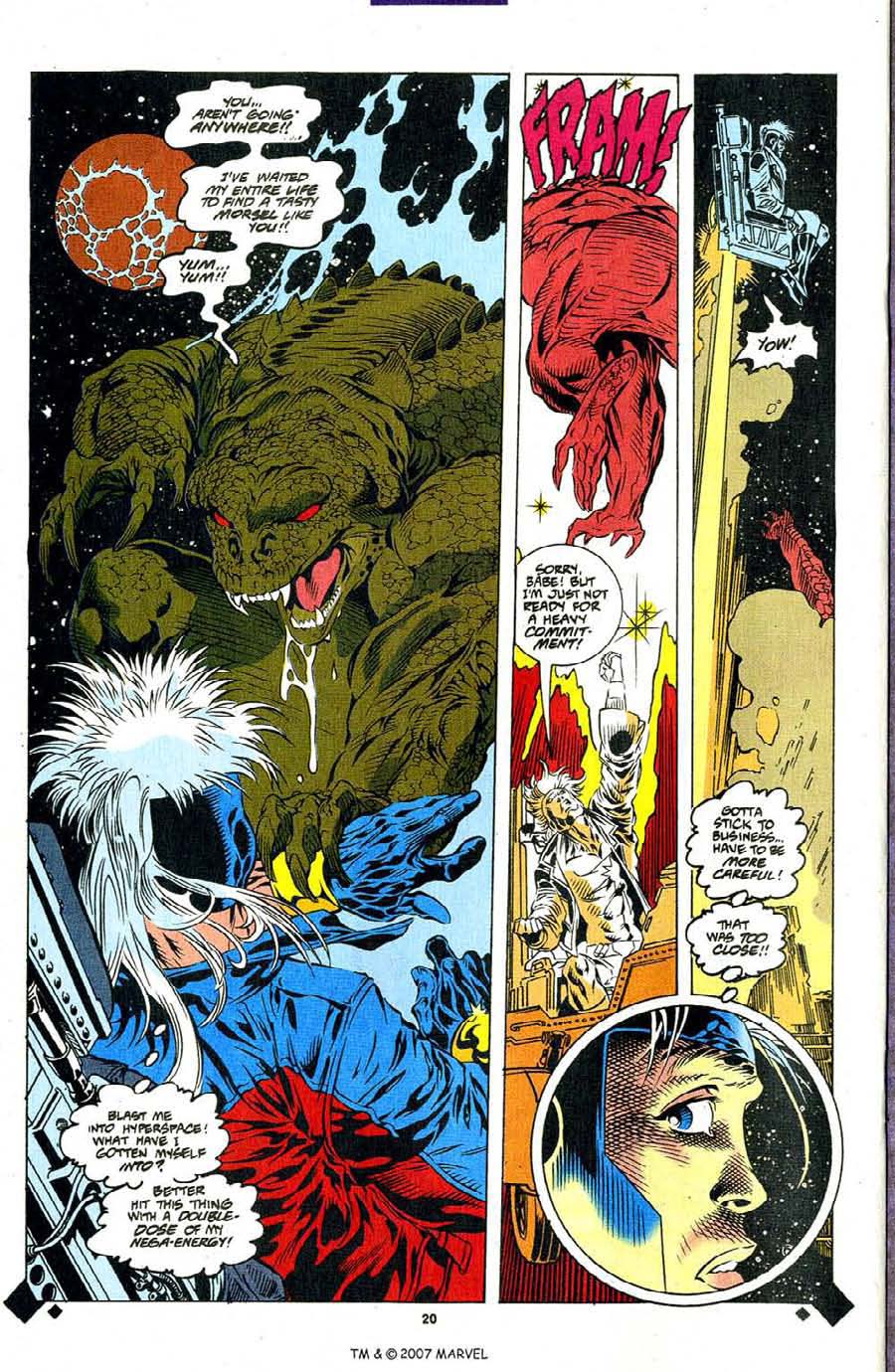 Read online Silver Surfer (1987) comic -  Issue #107 - 22