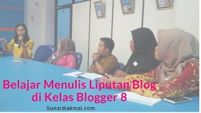 belajar liputan blog