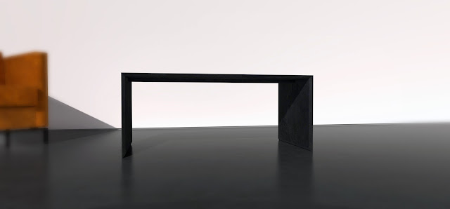 Filo black mdf table mesa dm negro andres gonzalez gil