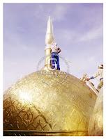 mahkota kubah masjid