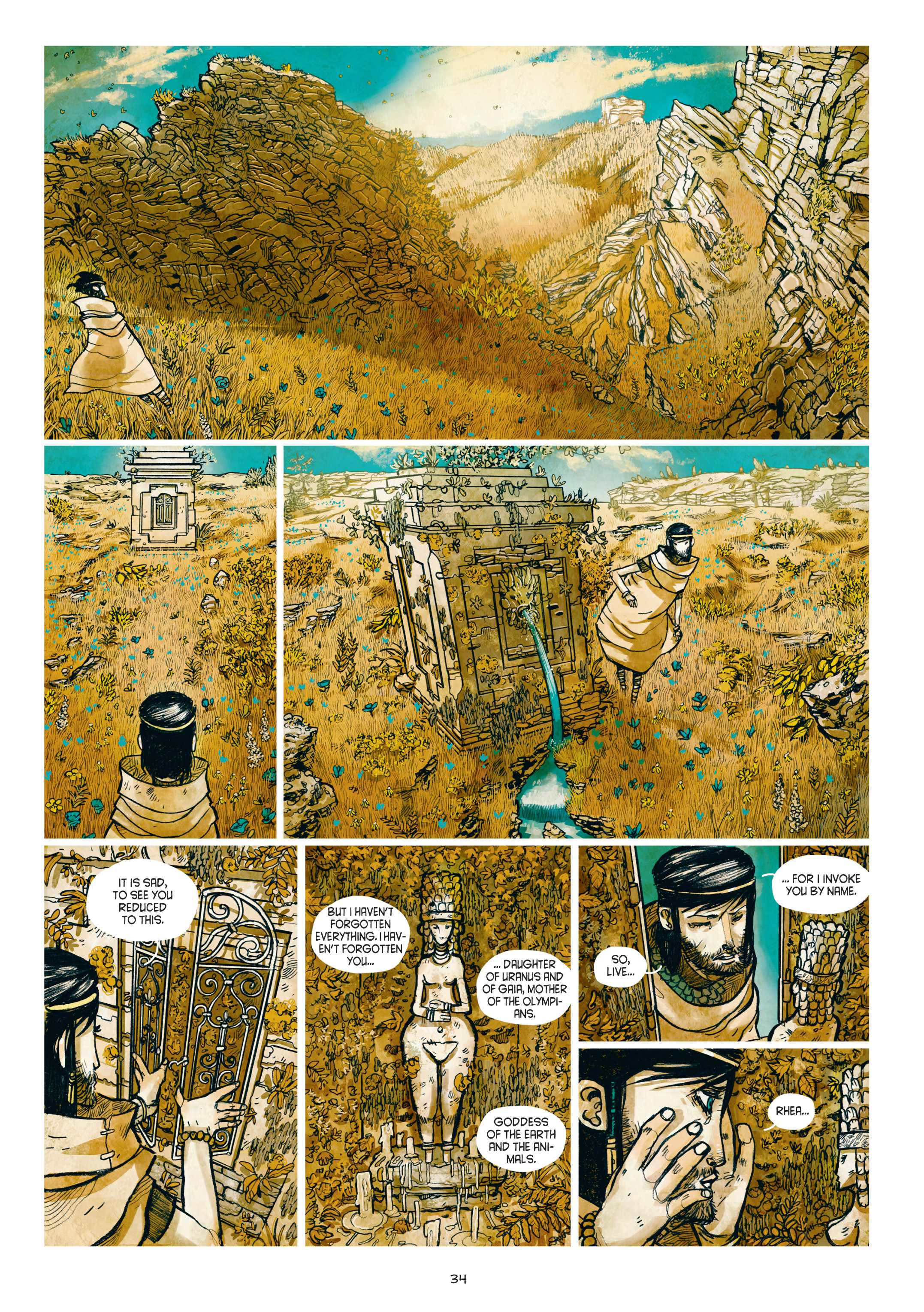 Read online Adrastée comic -  Issue #1 - 35
