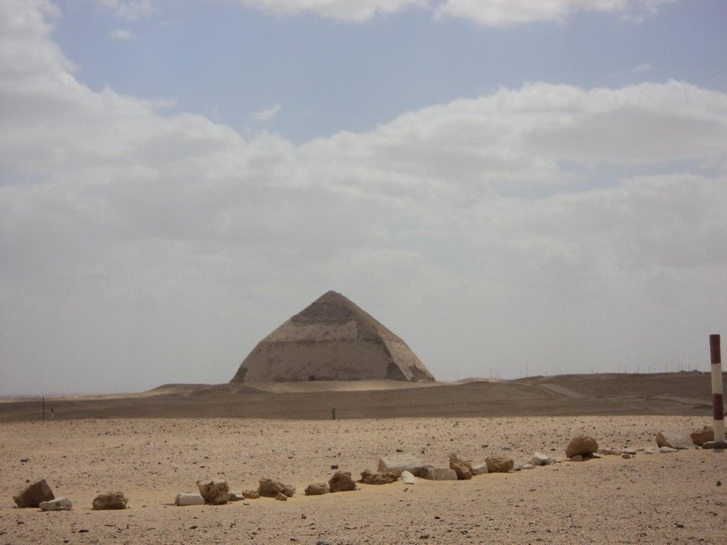 Pirâmide Curvada no Egito