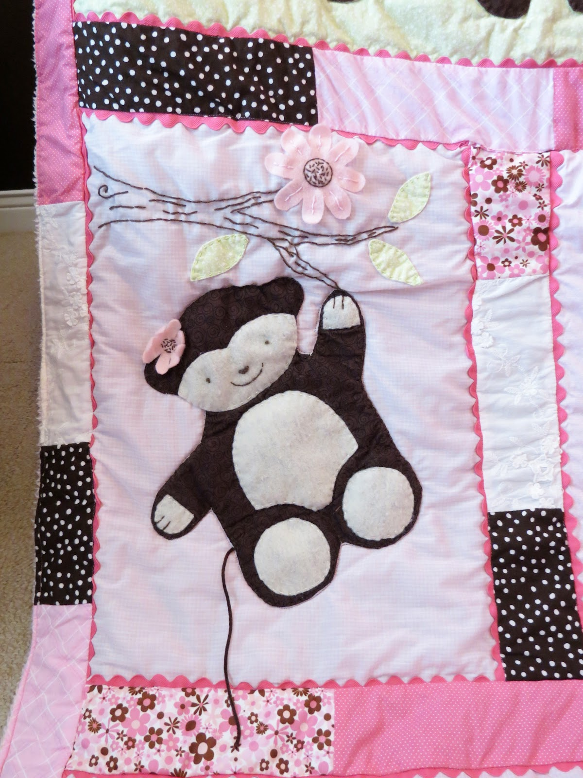 Creative Tradition Pink Amp Chocolate Baby Girl Jungle