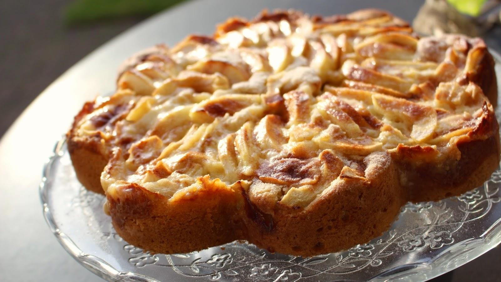 Honig Apfel Kuchen Mit Zimt Mrs Flury Gesund Essen Leben