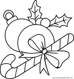 Mistletoe Coloring Page 6