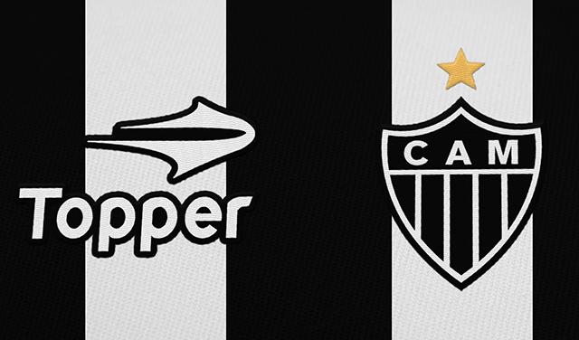 31a0267cf2 Atlético Mineiro oficializa a Topper como sua fornecedora por 4 anos ...