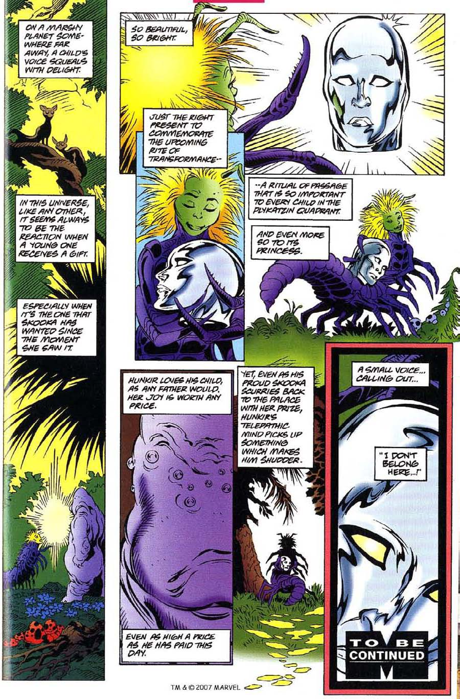 Read online Silver Surfer (1987) comic -  Issue #115 - 33