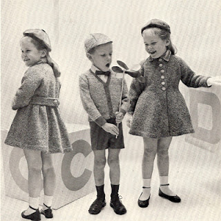 Vintage Boys Knitted Cardigan Cap Pattern
