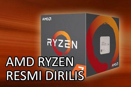 Preorder untuk Prosesor AMD Ryzen Dibuka