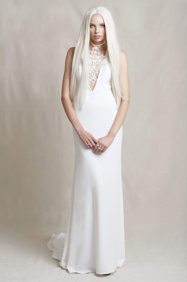 Modern bohemian bride Delila Fox Nouvelle Artisan Collection