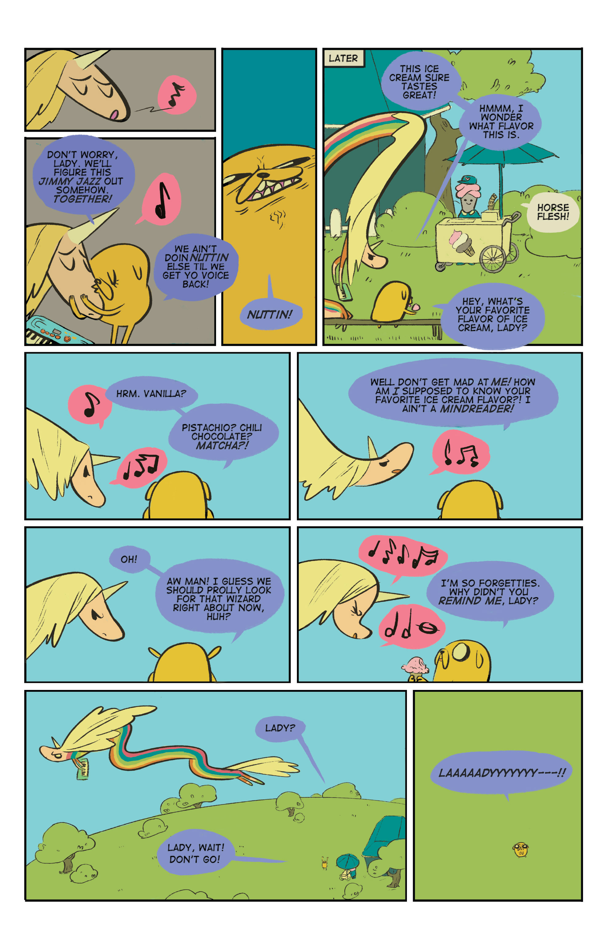 Read online Adventure Time: Marceline and the Scream Queens comic -  Issue #5 - 23