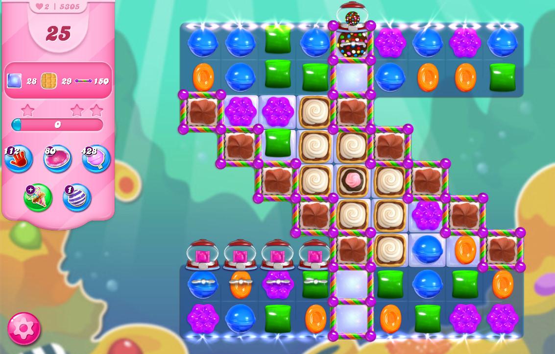 Candy Crush Saga level 5305