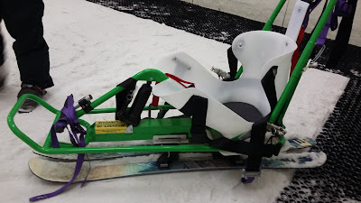 Picture of the sit-ski that I had my lesson in