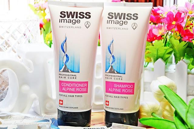 SWISS IMAGE, Alpine Rose/ szampon i odżywka do włosów.