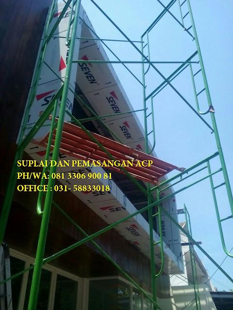 Pemasangan Aluminium Composite Panel