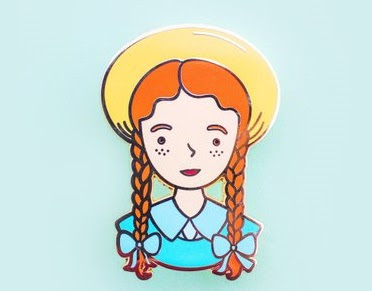 Anne of Green Gables Enameled Pin
