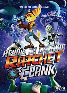 Heróis da Galáxia: Ratchet e Clank - BDRip Dual Áudio