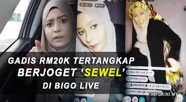 VIDEO: Farah Elmo Tertangkap Berjoget 'Sewel' Di Bigo Live