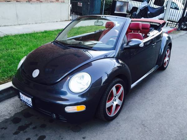used 2006 volkswagen new beetle convertible by owner. Black Bedroom Furniture Sets. Home Design Ideas