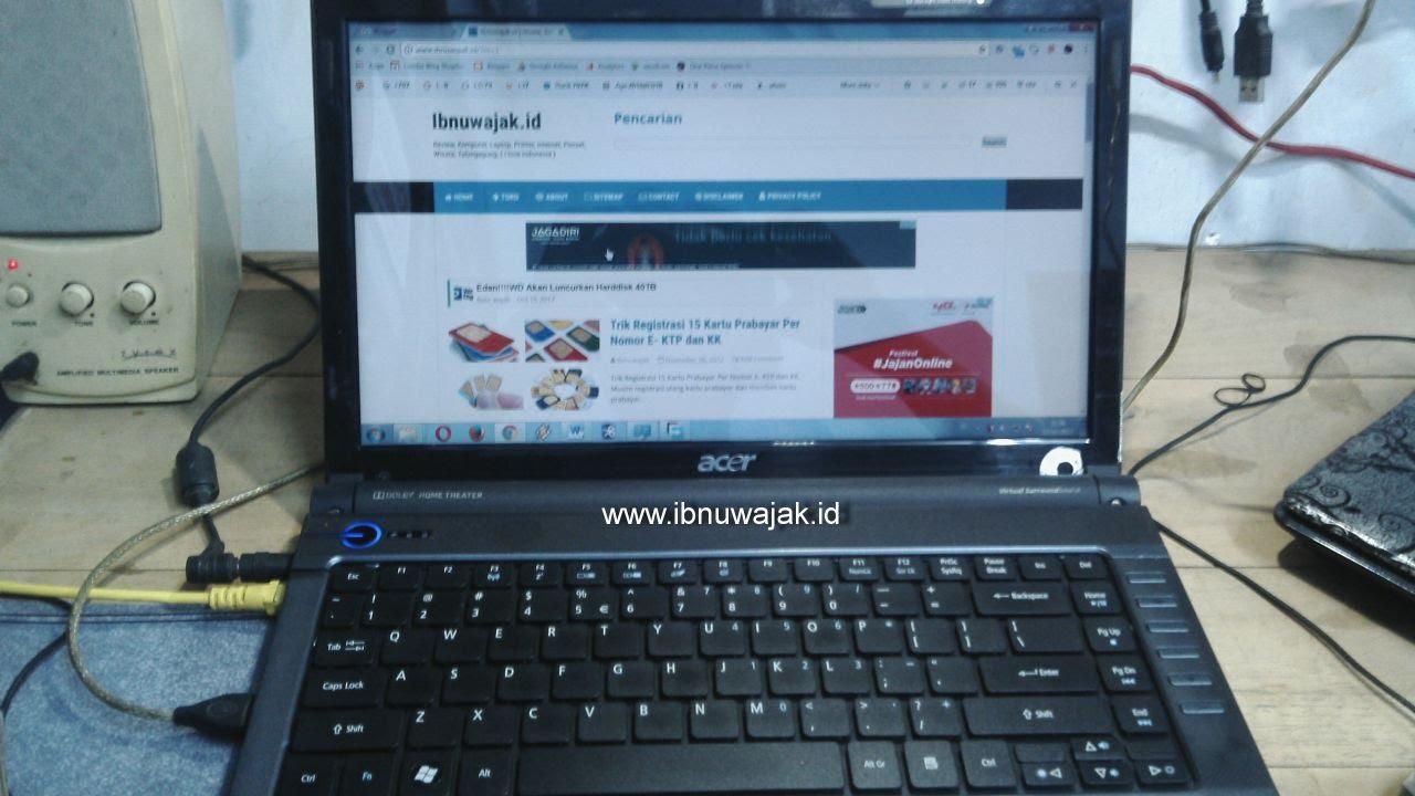 Laptop Acer 4736Z Yang Aneh