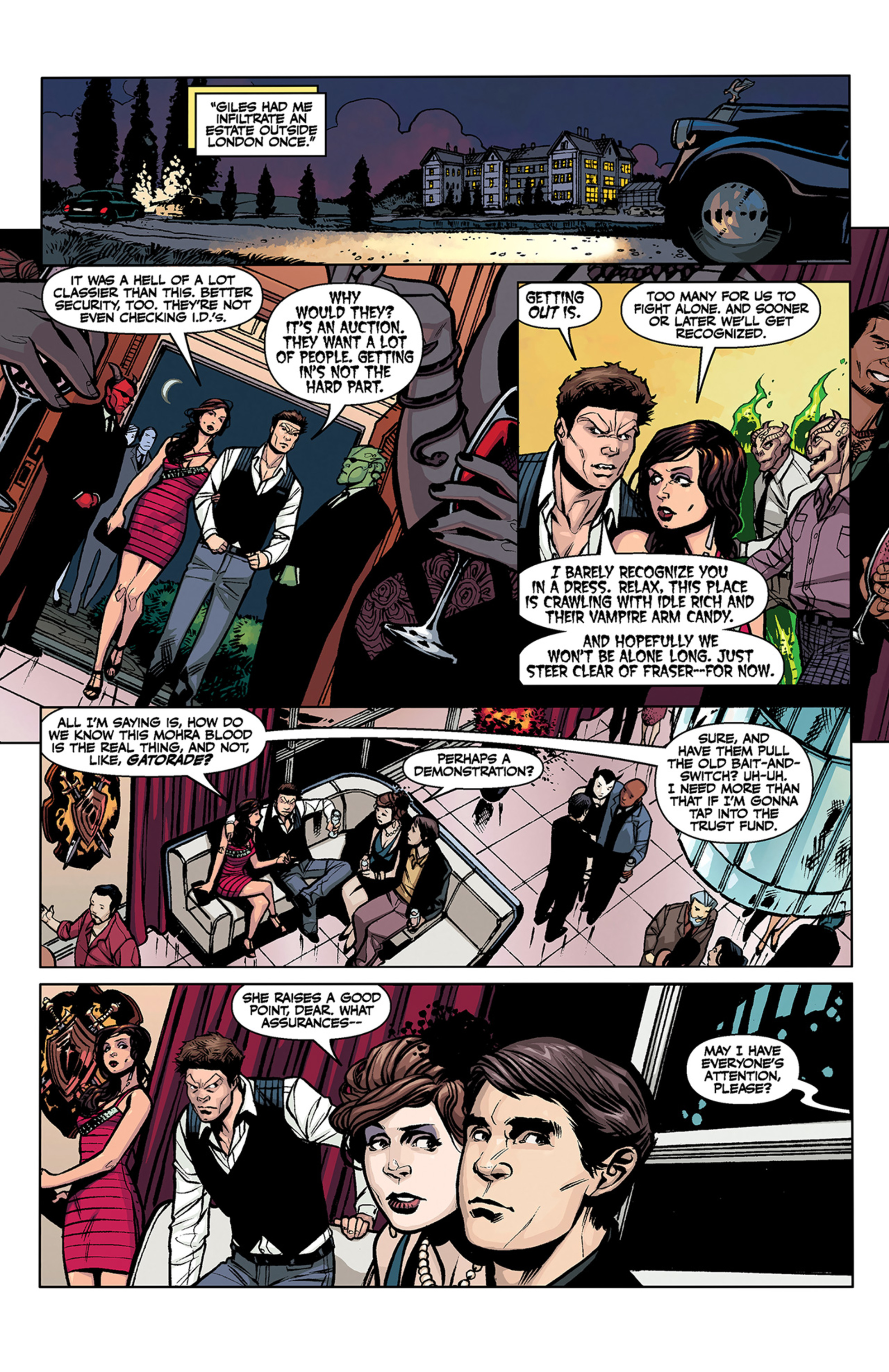 Read online Angel and Faith comic -  Issue #3 - 19