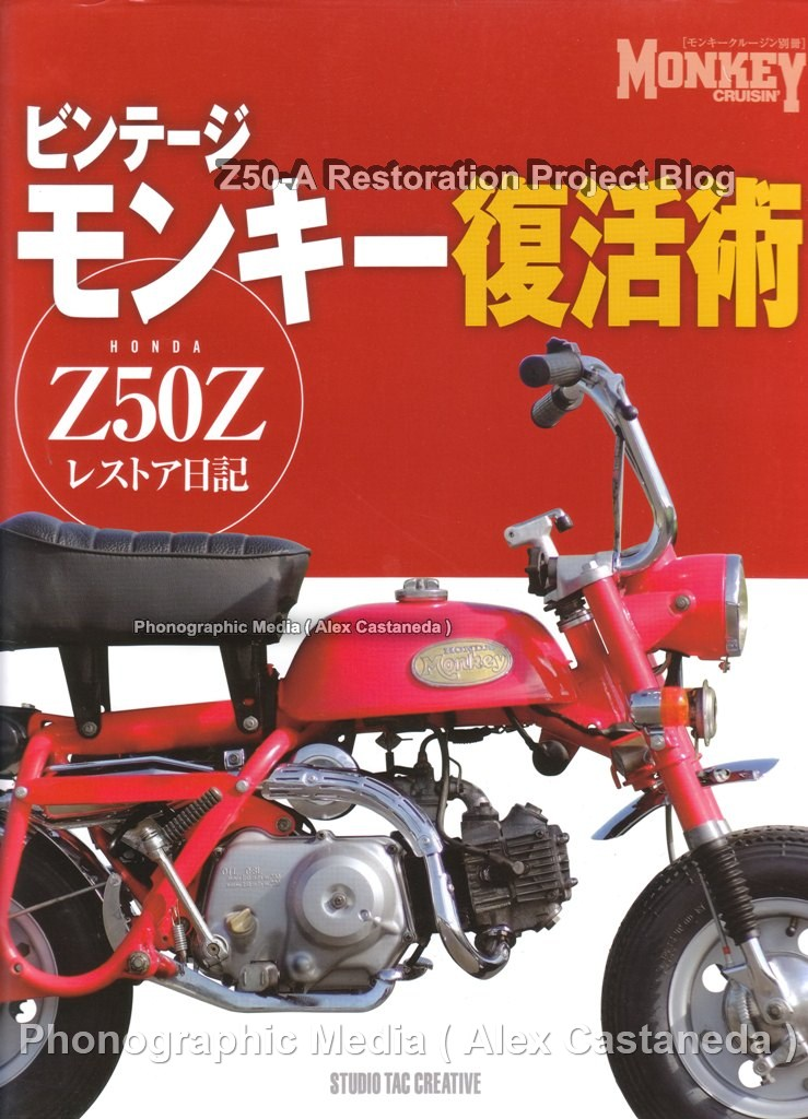 1975 Honda Ct90 Wiring Diagram Ford Car Stereo Diagrams Japan Monkey Cruisin Z50 Z Restoration Book Diary With Step By Photos Mini Trail