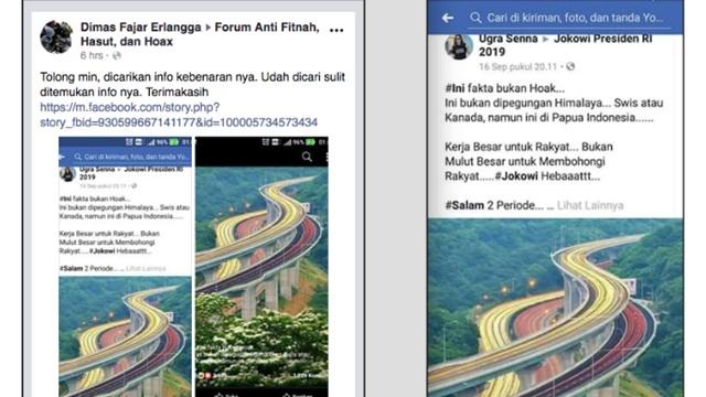 Viral Foto Jalan Tol Bertingkat Diklaim Kerja Jokowi, Kementerian PUPR Membantah
