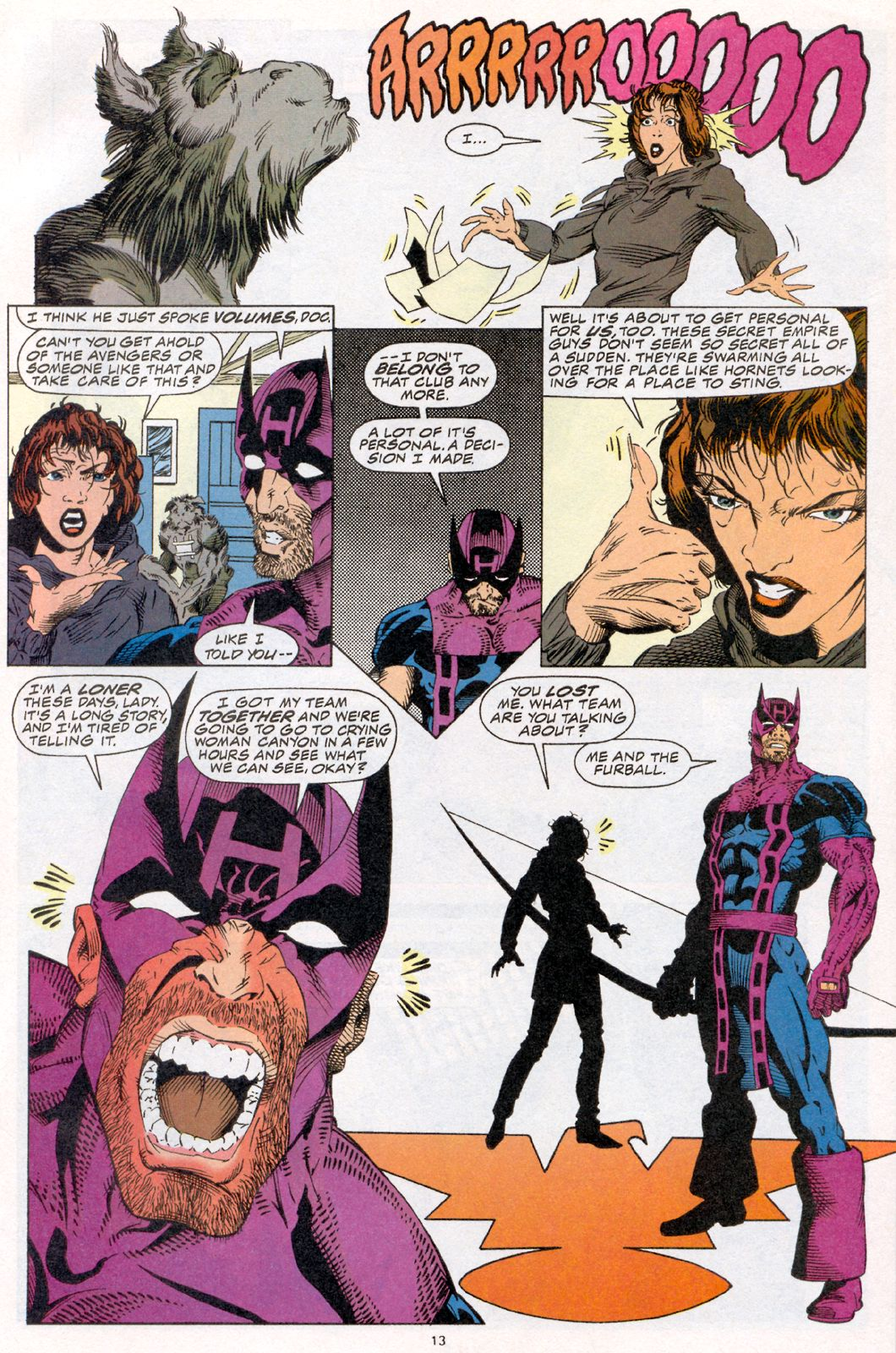 Hawkeye (1994) Issue #2 #2 - English 9