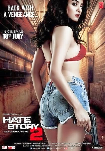 Poster Of Hate Story 2 (2014) 720p Hindi HDRip Full Movie Download