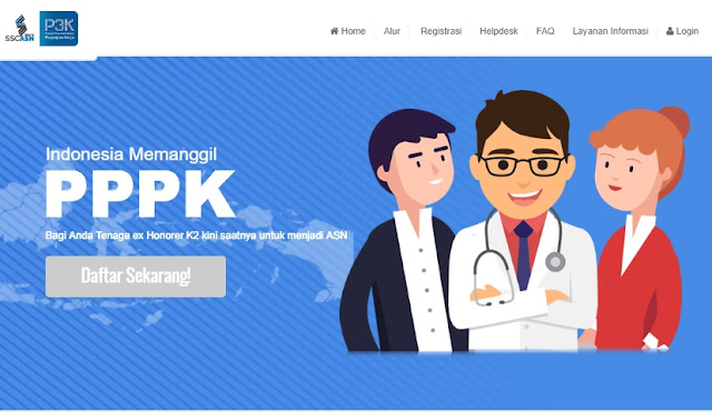 Persyaratan Tenaga Pendidik, Penyuluruh Pertanian dan Tenaga Kesehatan PPPK/P3k Tahun 2019