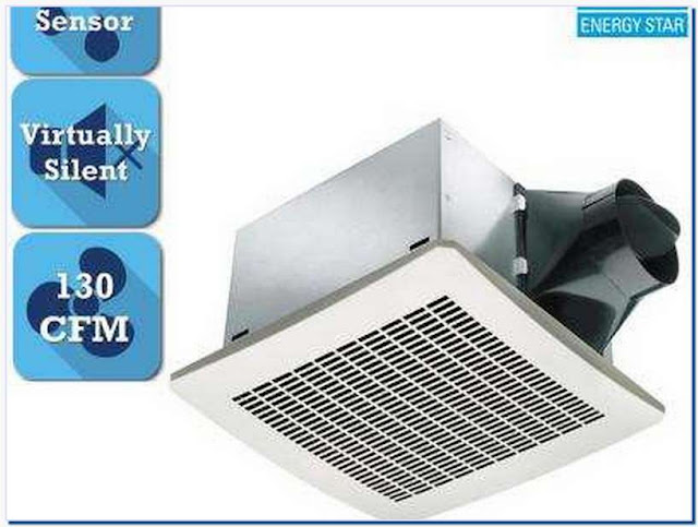thermostat controlled bathroom exhaust fan