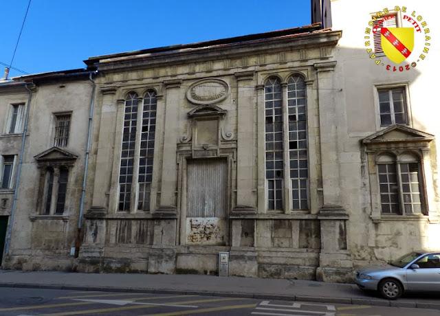 NANCY (54) - Chapelle du Collège des Jésuites